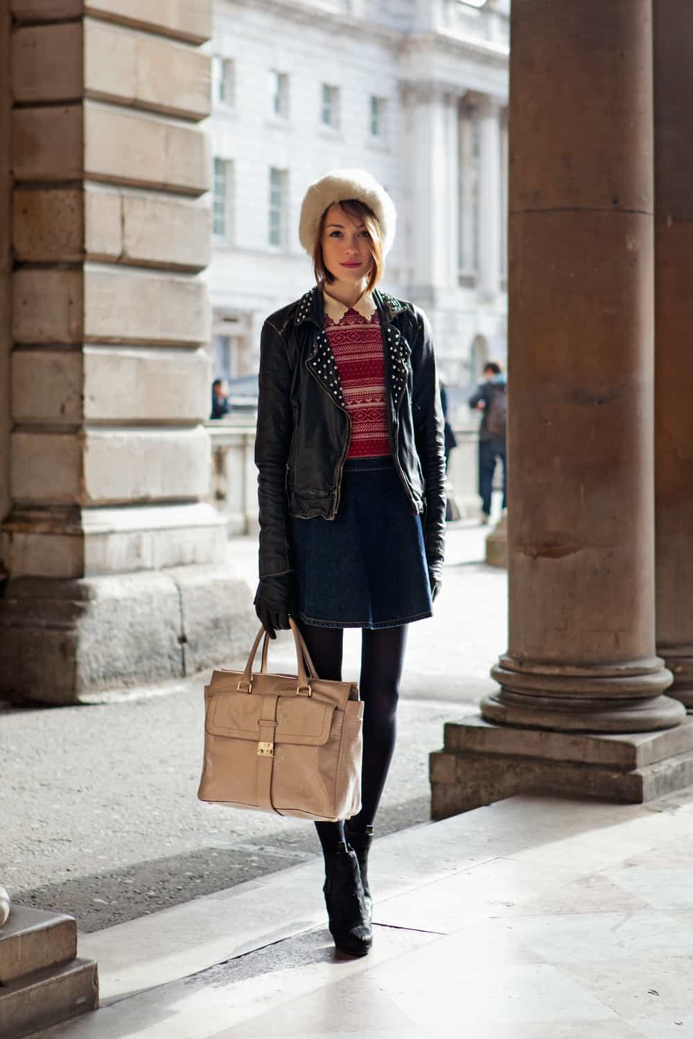 How does london street style look edgy sophisticated loose vintage urban the fashion tag Girl fashion style london