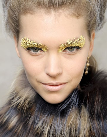 Fendi 2012 Fashion Week Beauty Looks