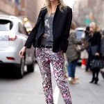 From The Catwalks To Celebrities & Then Straight To The Streets. 2012 Floral Print Trousers SpringTrend