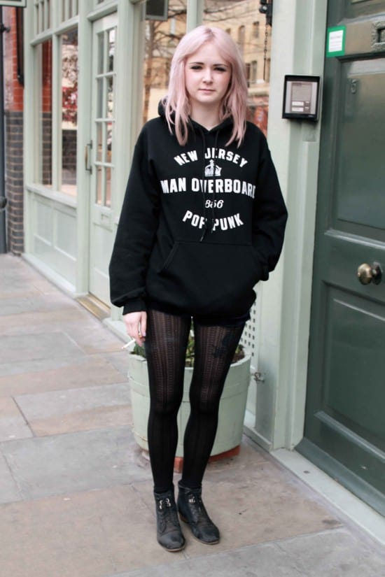 2012 London Street 39 90s Inspired Grunge Style The Fashion Tag Blog