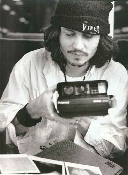 Johnny Depp Grunge Fashion - Then