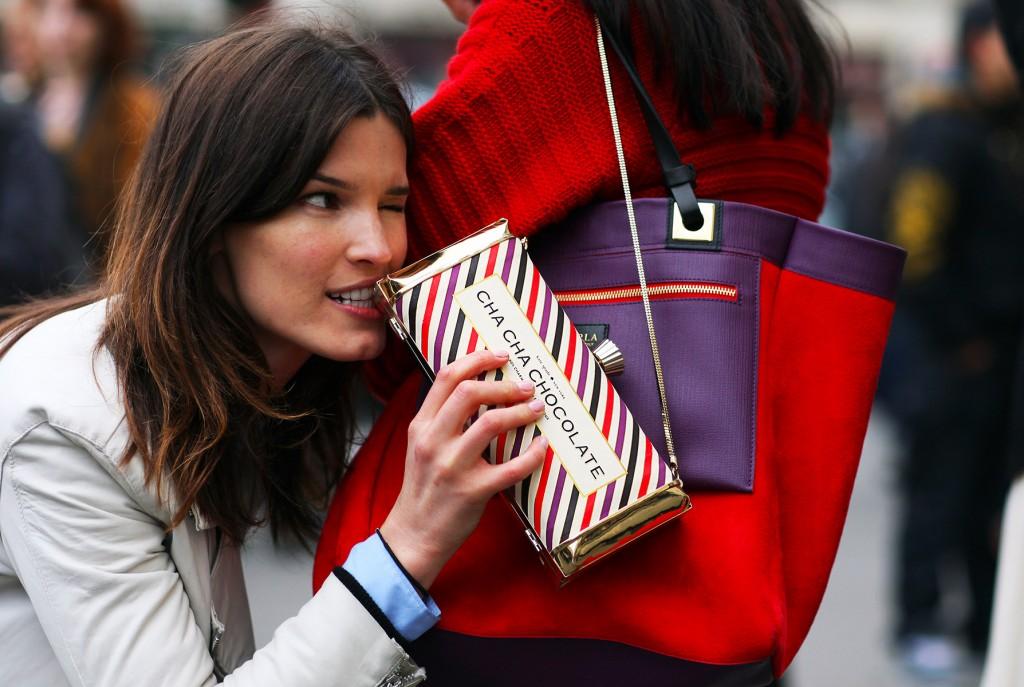 Paris Kate Spade Chocolate-bar Bag