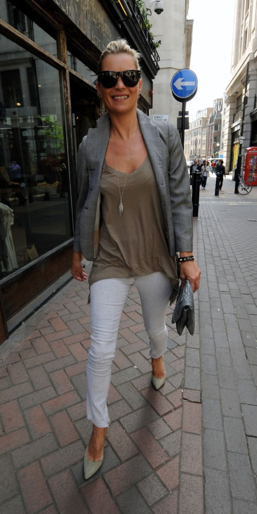 Kate Moss Style Icon White Skinny Jeans The Fashion
