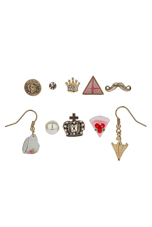 topshop jubilee kitsch earring pack 163 12 50 fashion