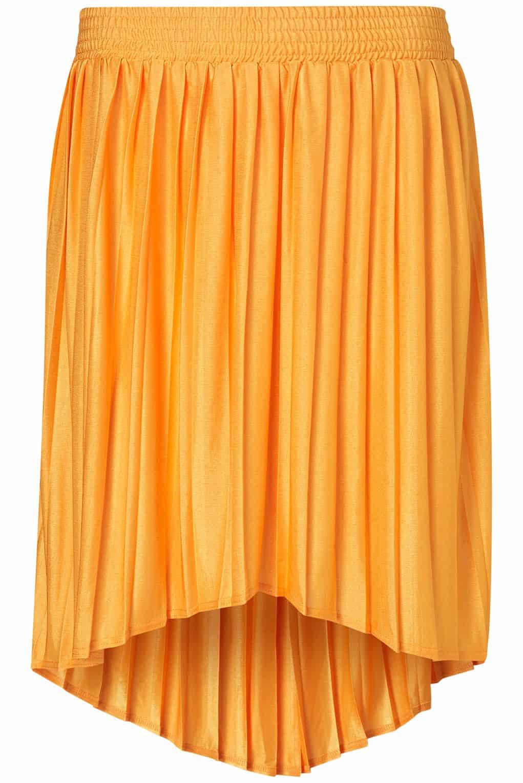 Topshop - Tangerine Dip Back Skirt £28.00