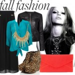 2012 Fall Fun & Statement Look! Animal Print Shoes & Black Leather Jacket!