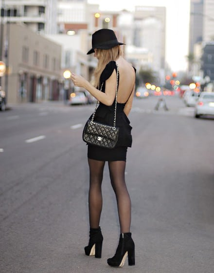 black dress party Holiday Party Looks & Styles! What To Wear For 2013 New Years Eve Party?