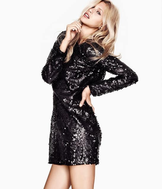 black sequined mini party dress new years eve Holiday Party Looks & Styles! What To Wear For 2013 New Years Eve Party?