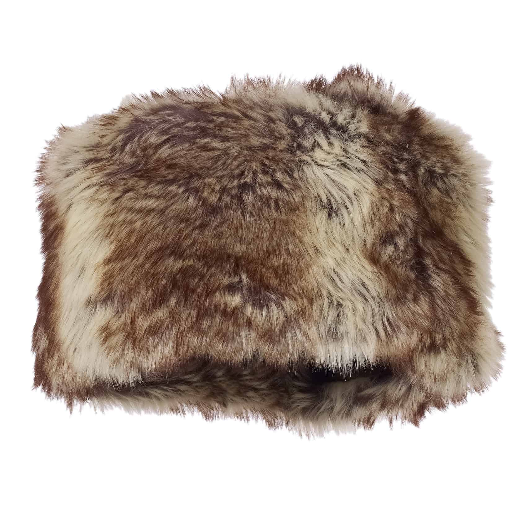 Cossack Faux Fur Hat - Oliver  Bonas