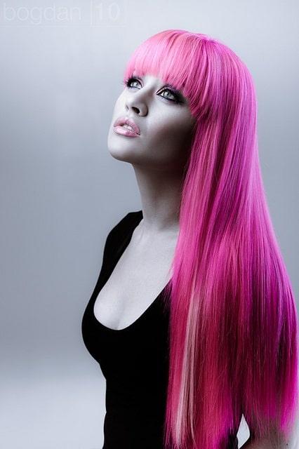 long-pink-hair