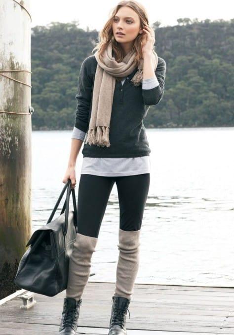 long-socks-winter -trend