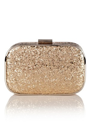 Glitter Hard Case Clutch: £30.00 from OASIS