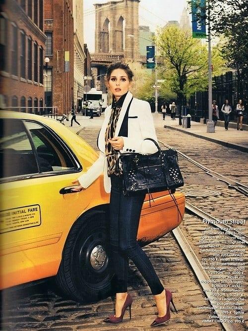 Olivia Palermo Editorial Fashion The Fashion Tag Blog