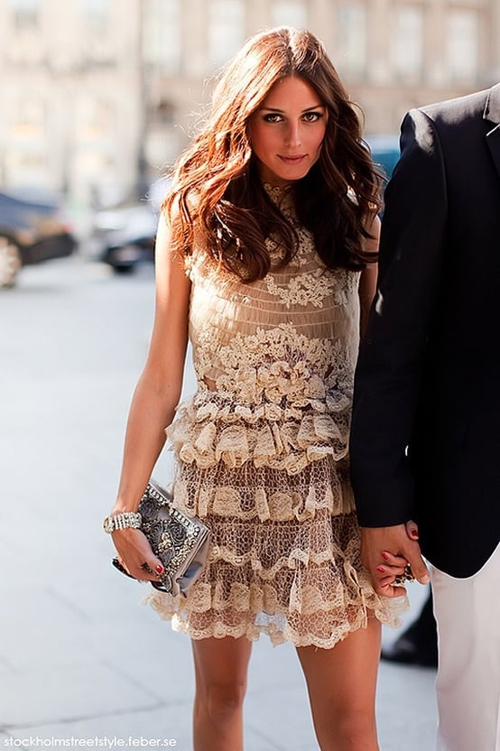olivia palermo lace dress Holiday Party Looks & Styles! What To Wear For 2013 New Years Eve Party?