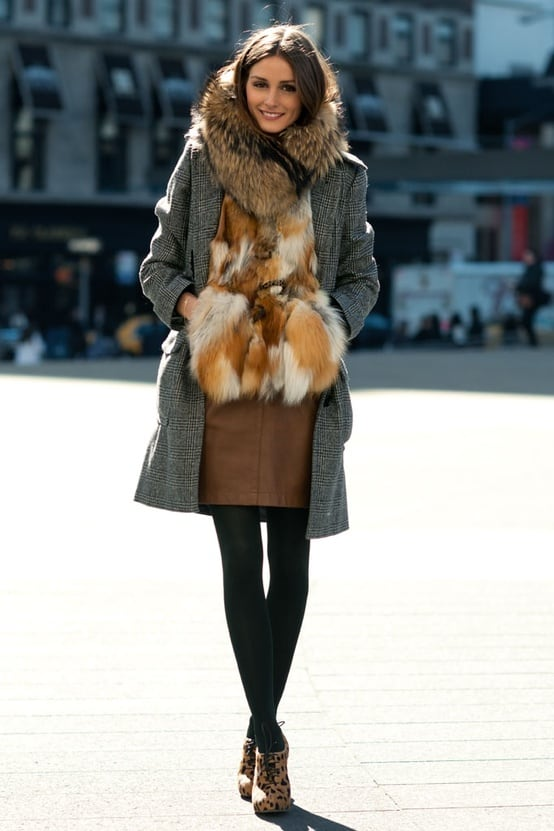 Olivia Palermo Winter Style The Fashion Tag Blog