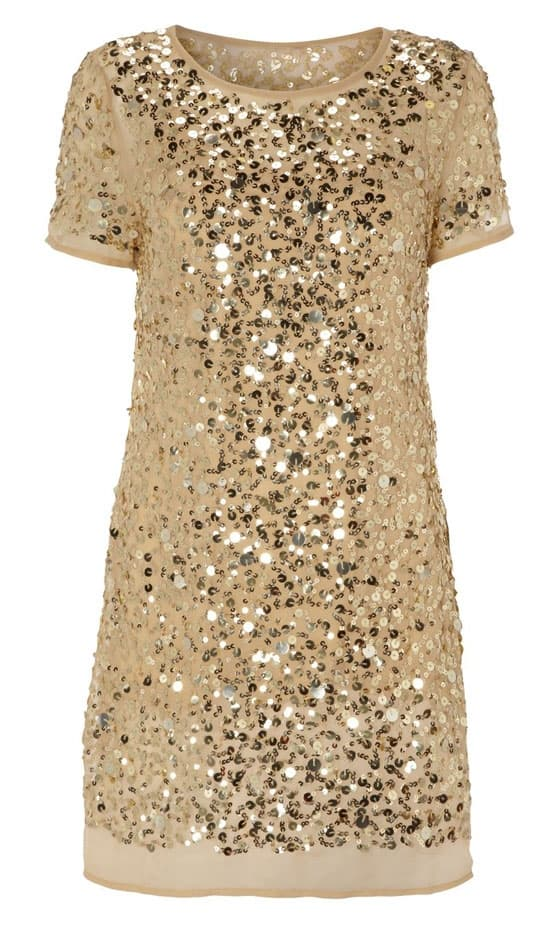 party sequined dress look co uk Holiday Party Looks & Styles! What To Wear For 2013 New Years Eve Party?