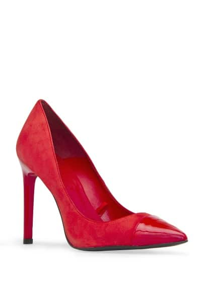 Contrast Toe Cap Pumps £69.99 from MANGO