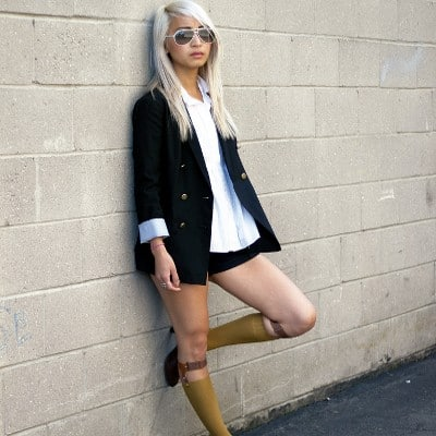 socks style Show Me Your Socks! Socks With Heels Trend & Knee High Socks For 2013 Winter! Yes Or No?