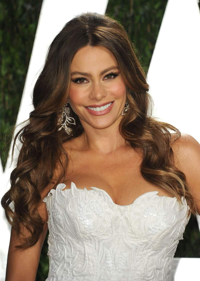 sofia-vergara-wavy-hair