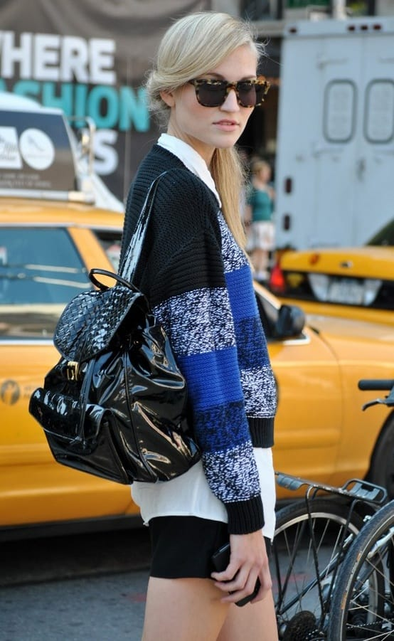 fed626e2680 The Backpacks Are Back! Yes Or No To This  90 s Trend  – The Fashion ...