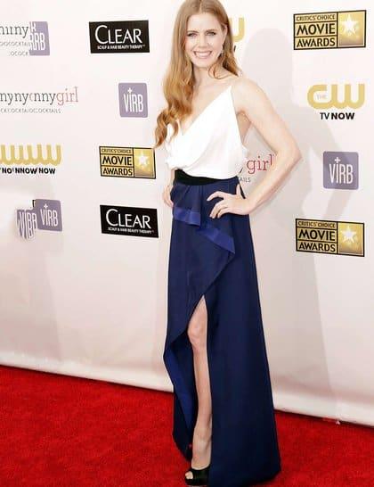 Amy Adams at Red Carpet Critics Choice Awards 2013