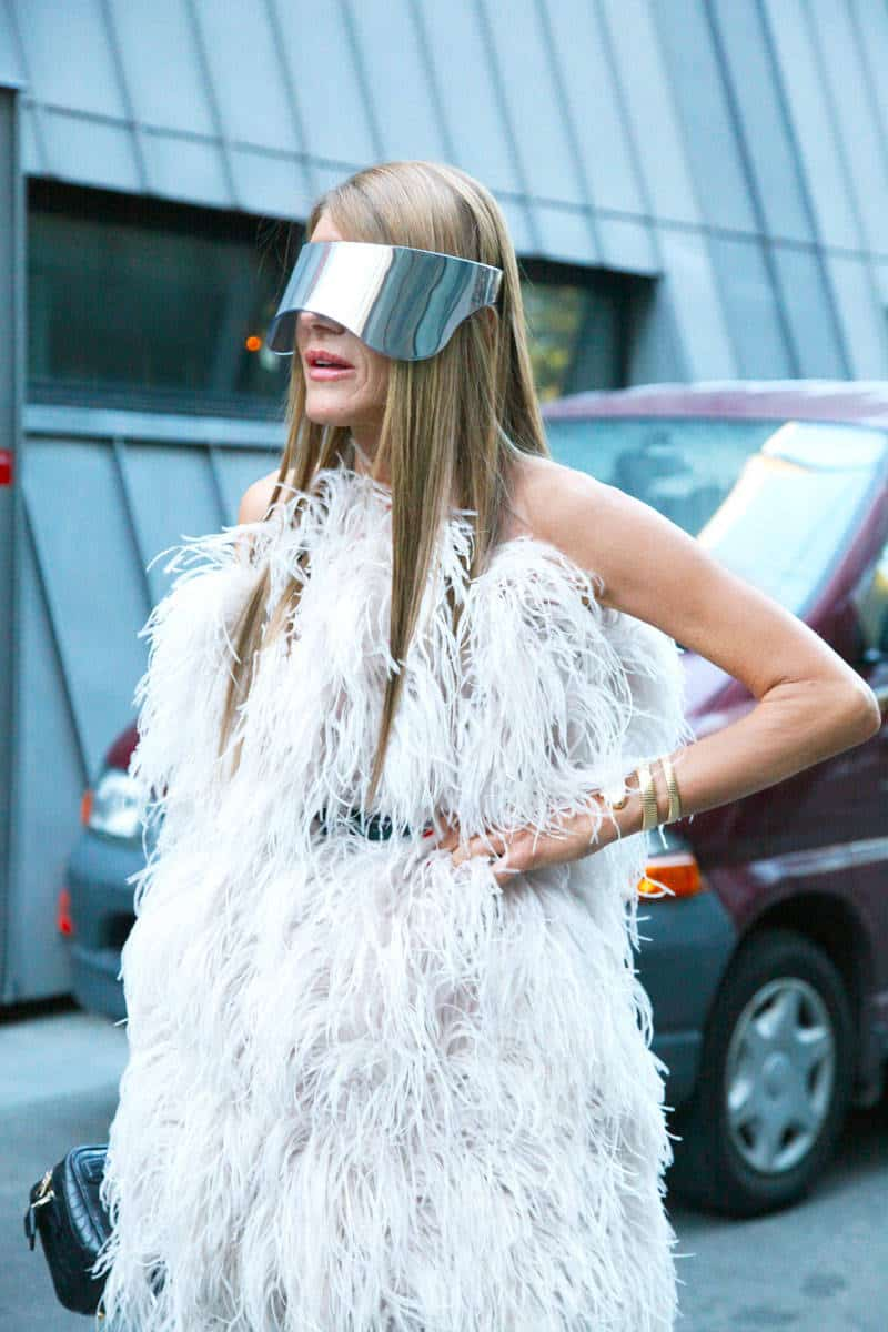 anna dello russo holographic mask The Holographic Trend! Retro Futuristic Glam Luxe Or Kitsch?