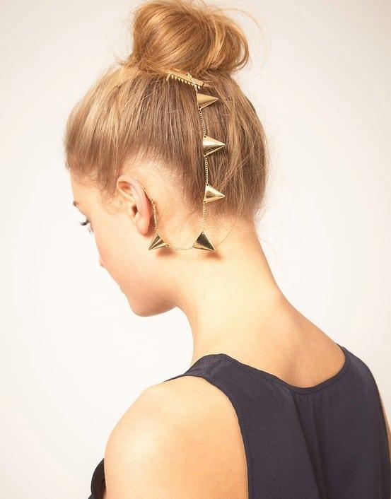 ASOS ear cuffs