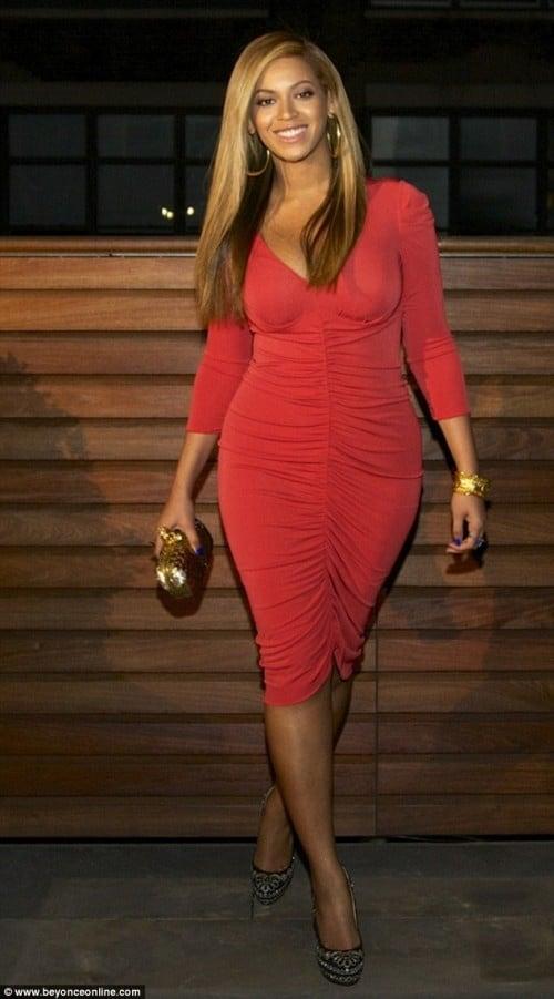 beyonce-red-dress