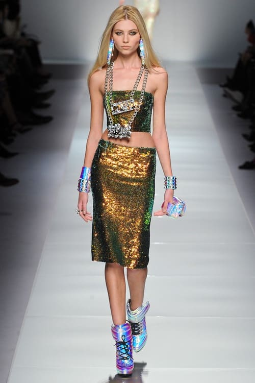 blumarine holographic trend The Holographic Trend! Retro Futuristic Glam Luxe Or Kitsch?