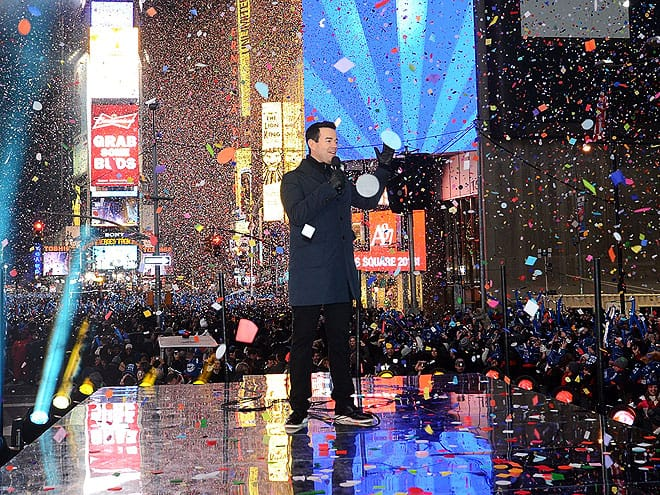 carson daly 660 How Did Celebrities Spend Their 2013 NYE & Winter Holidays?