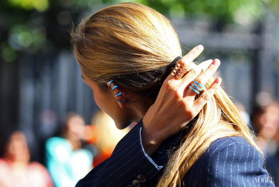 ear cuffs street style The New Bling: Ear Cuffs! Would You Wear Them Or Not?