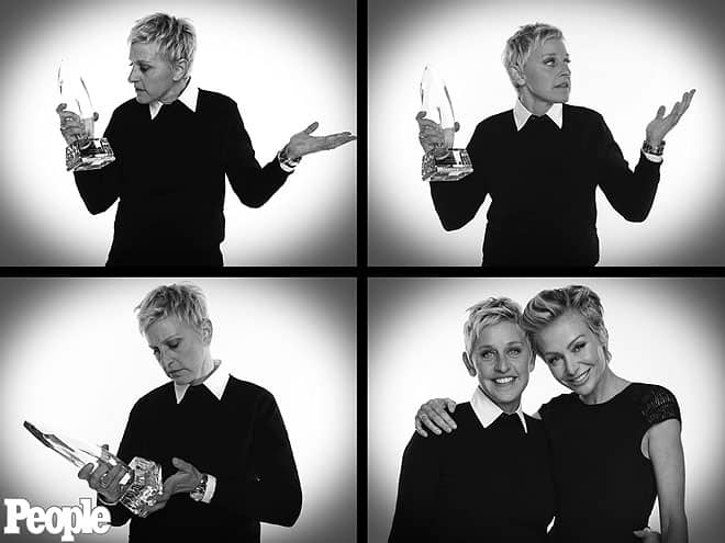 Ellen Degeneres at People's Choice Awards 2013