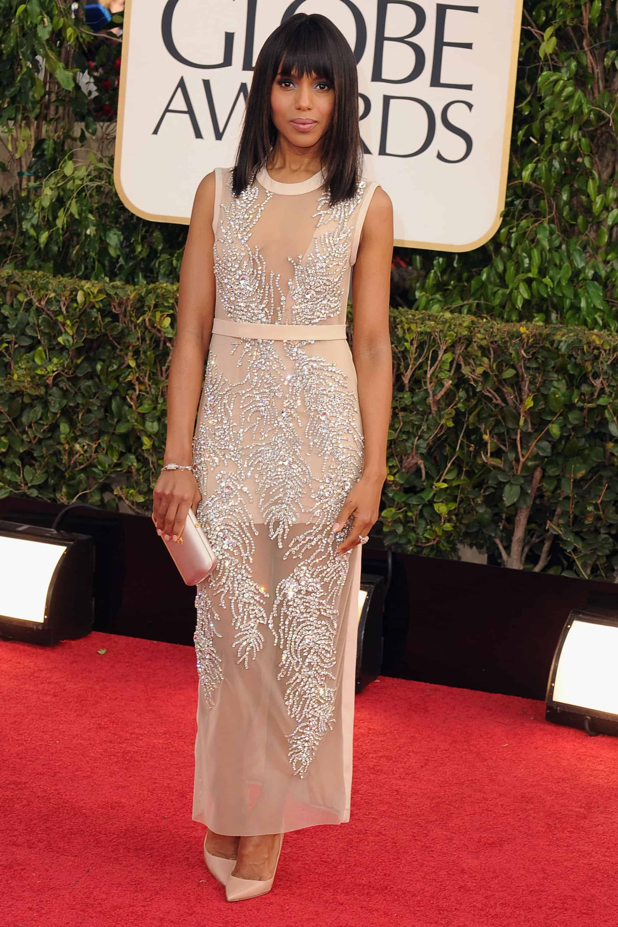 Golden globes 2013 red carpet dresses makeup who was best worst fashion tag blog - Golden globes red carpet ...