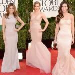 Golden Globes 2013 Red Carpet Dresses & Makeup! Who Was Best & Worst?