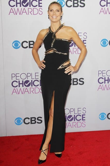 Heidi Klum at People's Choice Awards 2013