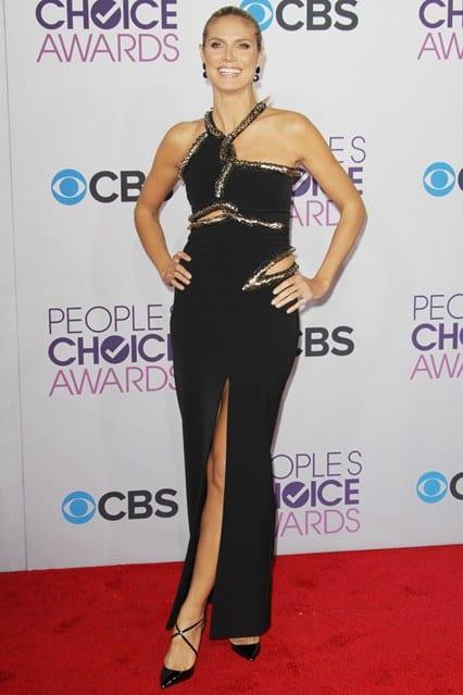 Heidi Klum at People's Choice Awards 2013