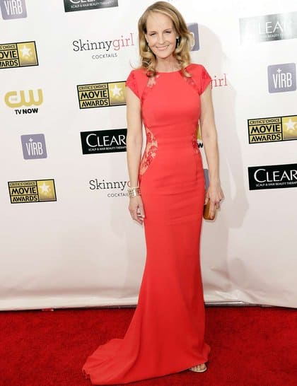 Helen Hunt at Red Carpet Critics Choice Awards 2013
