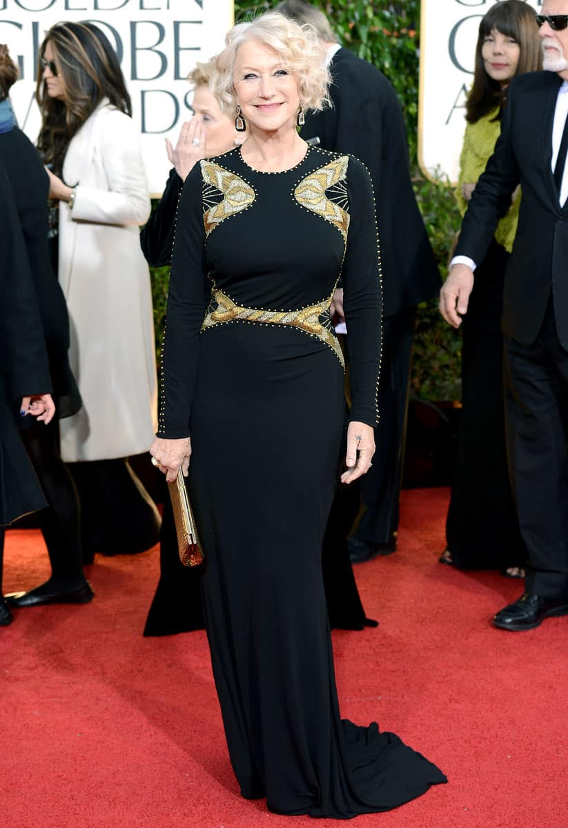 helen-mirren-golden-globes-2013-dress