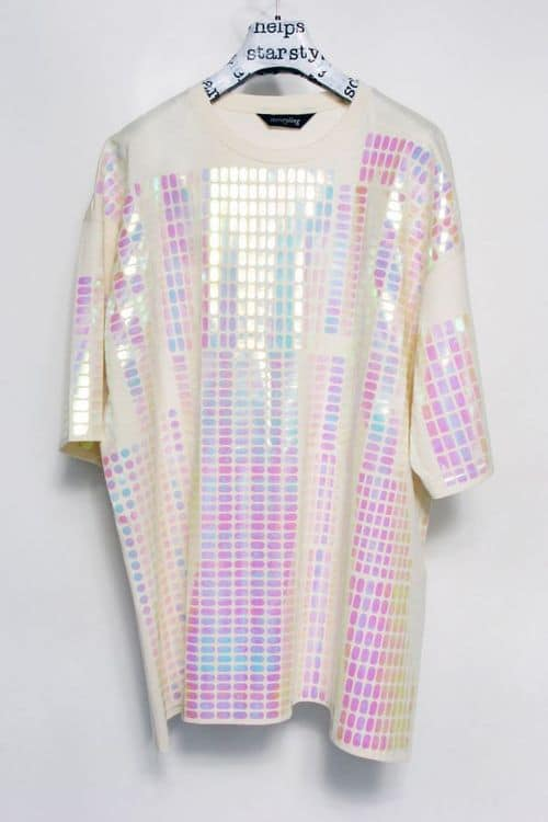holographic blouse The Holographic Trend! Retro Futuristic Glam Luxe Or Kitsch?