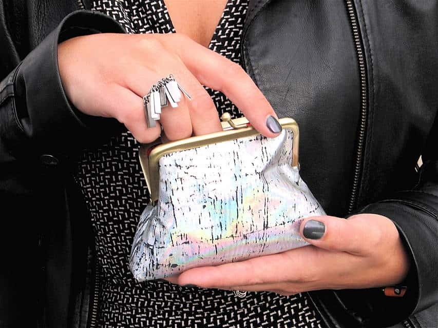 holographic coin purse trend The Holographic Trend! Retro Futuristic Glam Luxe Or Kitsch?