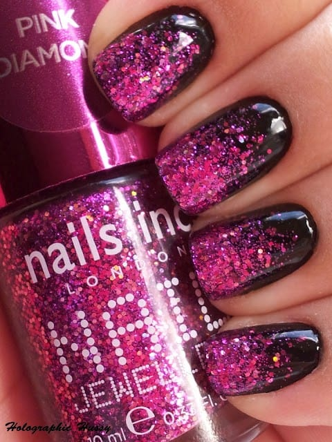 holographic pink nails The Holographic Trend! Retro Futuristic Glam Luxe Or Kitsch?