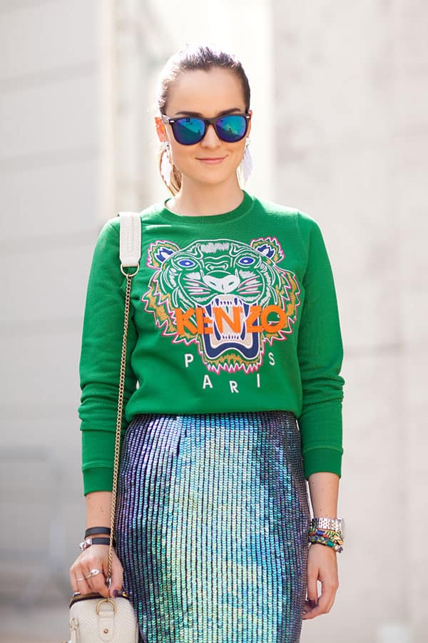 holographic-trend-skirt