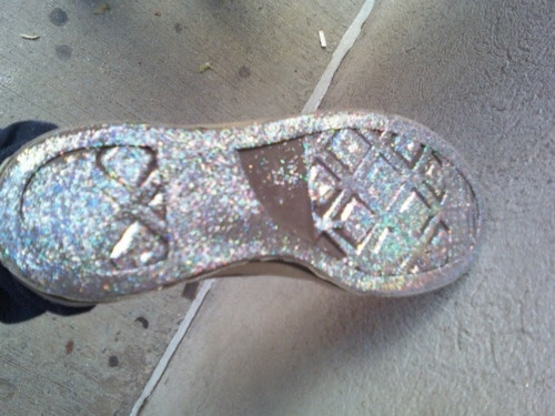 holographis shoe soles The Holographic Trend! Retro Futuristic Glam Luxe Or Kitsch?