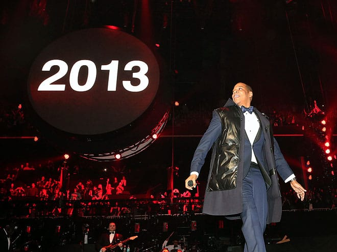 jay z 2013 nye How Did Celebrities Spend Their 2013 NYE & Winter Holidays?