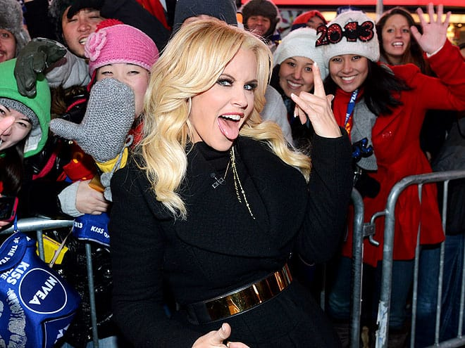 jenny mccarthy new york nye 2013jpg How Did Celebrities Spend Their 2013 NYE & Winter Holidays?