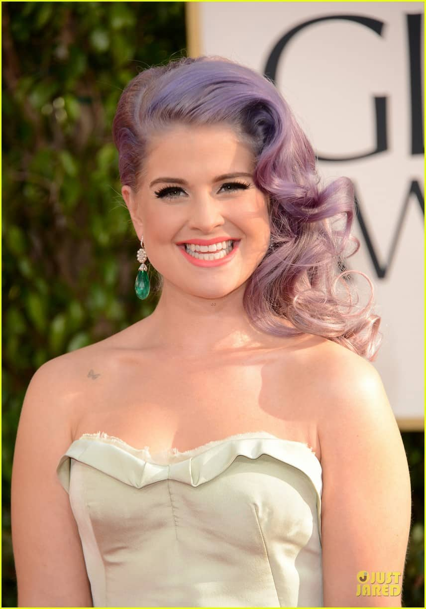 kelly-osbourne-golden-globes-2013-makeup