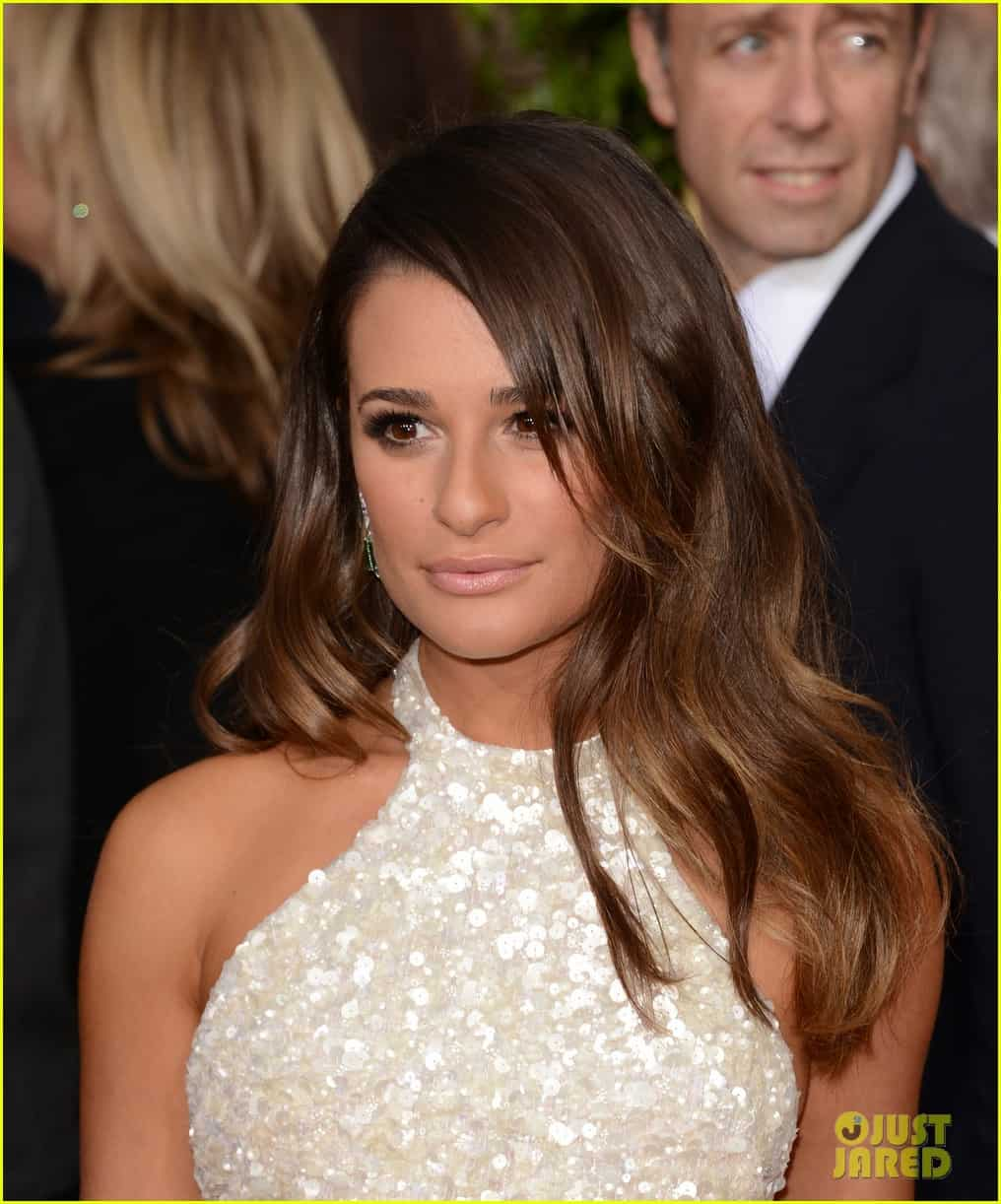 lea-michele-golden-globes-2013-makeup