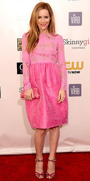 Leslie Mann at Red Carpet Critics Choice Awards 2013