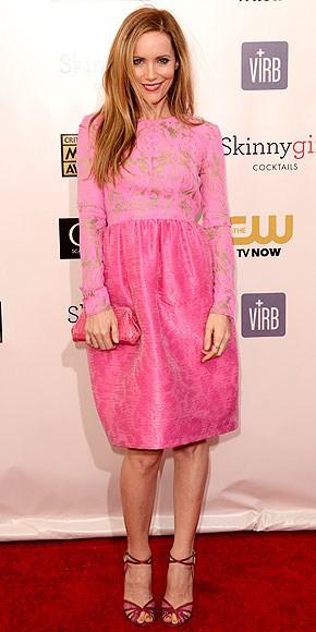 Leslie Mann at Red Carpet Critics Choice Awards 2013