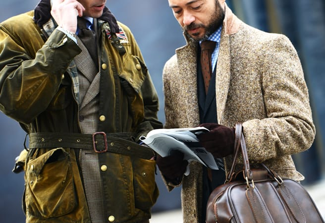 men layering styles What Do Men Wear In Winter? Mens Street Styles From 2013/2014 Fall   Winter Fashion Week!